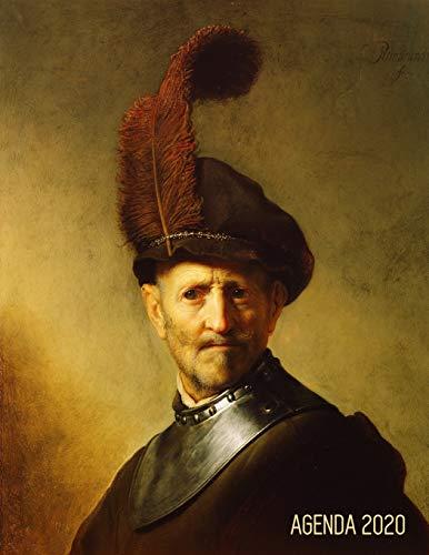 Rembrandt Agenda Diaria 2020: Un Anciano en Traje Militar   Planificador Enero a Diciembre 2020   52 Semanas Enero a Diciembre 2020   Maestro Holandés: 55 (Agenda 2020 Semana Vista)