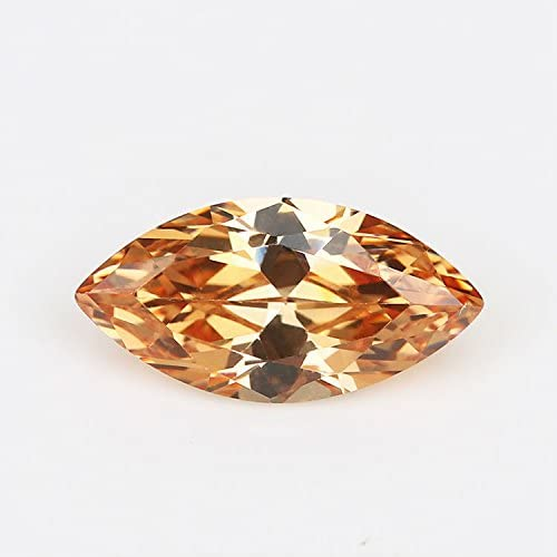 50pcs 1.5x3~10x20MM AAAAA Marquise Champagne Max 48% OFF Stone cz Cubi Max 54% OFF Loose