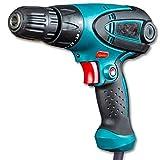 Shoppingekart Impact drill screwdriver machine 10mm screw drilling gun torque adjustable system KM-102-(10 mm/350W/750 Rpm/230v/Multicolor/Plastic)