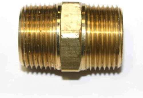 Kobika Sales 6 3 4'' NPT Male Reservation Hex Brass Nipple Fi Pipe Thread Gifts