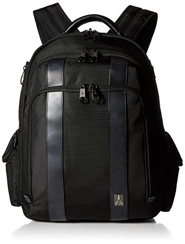 Travelpro Executive Choice Crew - Checkpoint Friendly Laptop Backpack, Black, 17-Inch