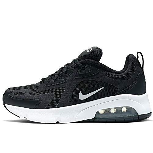 Nike Air MAX 200 Big Kids' Shoe, Zapatillas para Correr, Black/White, 38 EU