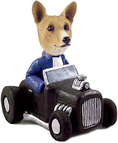 Max 75% OFF Basenji Hot Rod Figurine Collectable Doogie Mesa Mall