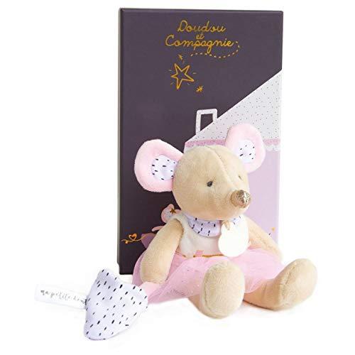 Doudou et Compagnie DC3506 - Il piccolo topolino si passerà - Suzie in tutù, colore: Rosa