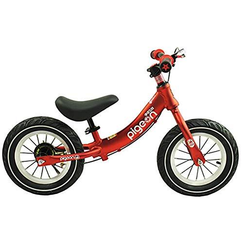 HKX Triciclo Present Trike Safety Bicicleta de Equilibrio Ligera para niños First Running con Frenos y con neumático de Goma, para niños de 2 a 6 años de Edad, niños y niñas