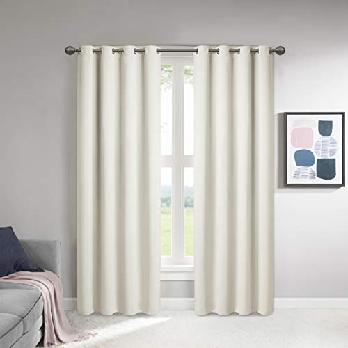 cortinas opacas con aislamiento termico y alzapaños