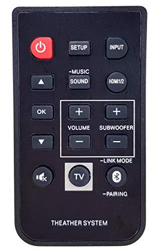 Ersatz Fernbedienung passend für Panasonic SC-HTB580PP | SC-HTB580