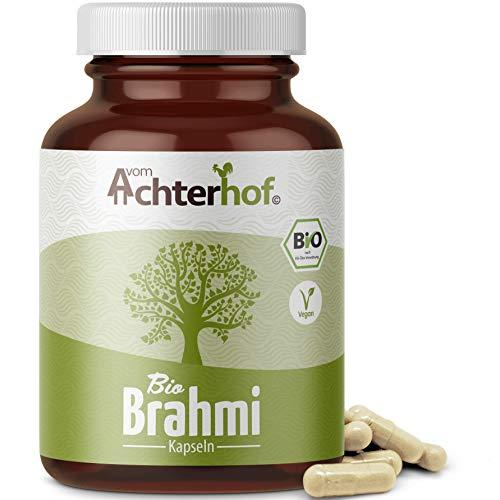 Brahmi Kapseln Bio | 160 Kapseln | 500mg pro Kapsel | laborgeprüft | Bacopa Monnieri - Ayurveda | vegan | Gedächtnispflanze