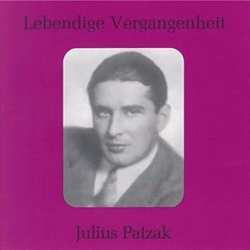 Lebendige Vergangenheit - Julius Patzak