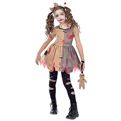 AMSCAN Costume di bambole voodoo carino per bambini halloween XL (10-12 years)