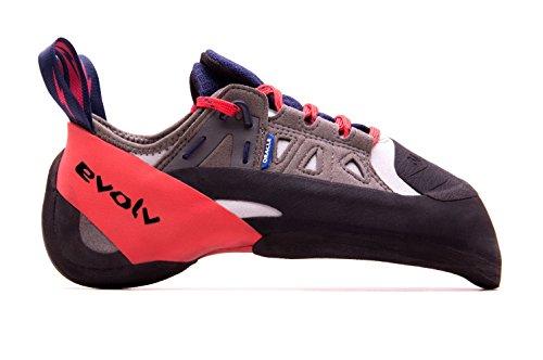 Evolv Oracle Kletterschuhe Herren Blue/Grey/red Schuhgröße UK 10,5 | EU 45 2021 Boulderschuhe