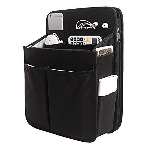 Yoillione Nylon Backpack Organizer Insert for Men and Women, Lightweight Travel Rucksack Insert with High Capacity, Large Bag Organizer with Zipper Pockets