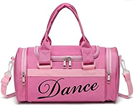 Short Trips,Carry-on Size Duffel is The Perfect Size for Ballet Class,Dance Recitals,Weekend Overnight 2017snow Kids Ballerina Dance Bag for Girls