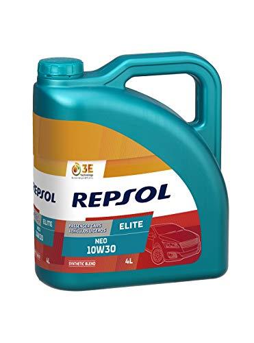 REPSOL Elite Neo 10W-30 Aceite De Motor Para Coche, 4l