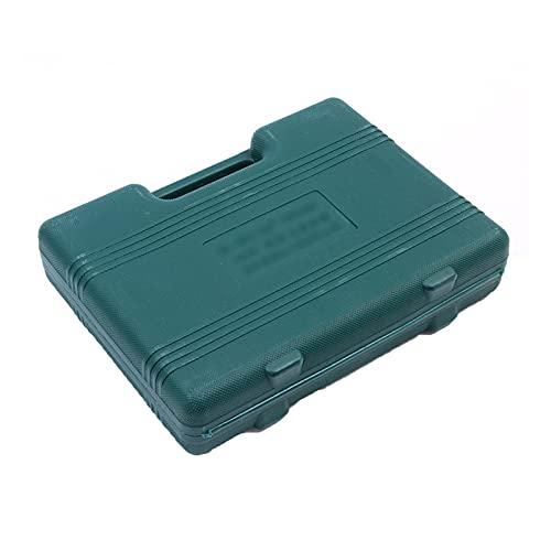 Juego de herramientas de 22 piezas Kit de herramientas de mano de Hogar General con caja de herramientas de plástico Caja de almacenamiento para mujeres Niños Motosierra Tornillos de hogar Botas de co