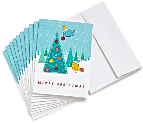 Amazon.com $50 Gift Cards, Pack of 10 with Greeting Cards (Christmas...