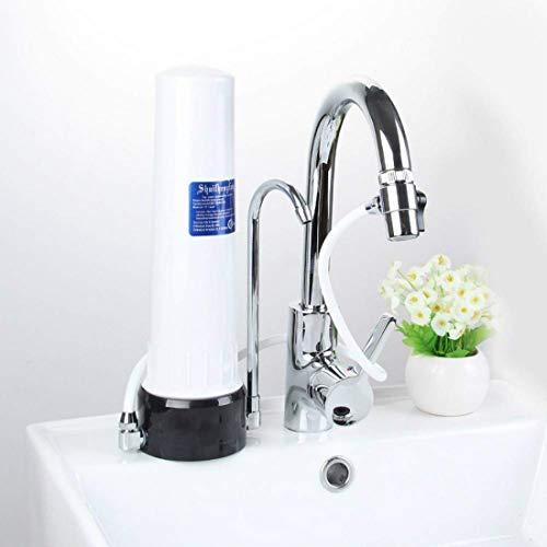 Grifo purificador, filtro de grifo, purificador de agua para grifo, con material ultra absorbente, apto para grifos estándar.