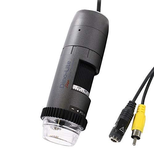 Dino-Lite RCA Digital Microscope AM5212NZT- 960 x 480 Resolution, 20x - 220x Optical Magnification, Polarized Light, Microtouch