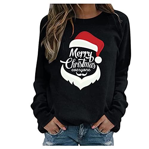 Christmas Stripe Shirt Women Christmas Sweat Shirt Pastel Sweatshirt Large Sweater for Women Tank top Blouse Women Woolen top Weird Womens Clothes Champaign Campaign Shirt