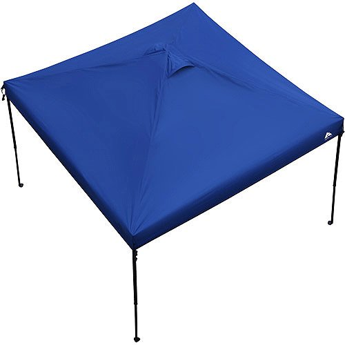 Ozark Trail 10' x 10' Gazebo Canopy Top - Blue Color (Canopy Top Only). Includes: (1) 10 Feet X 10 Feet Canopy Top Only, and (1) Carrying Bag With Handle and Zipper. Canopy Frame Is Not Included.