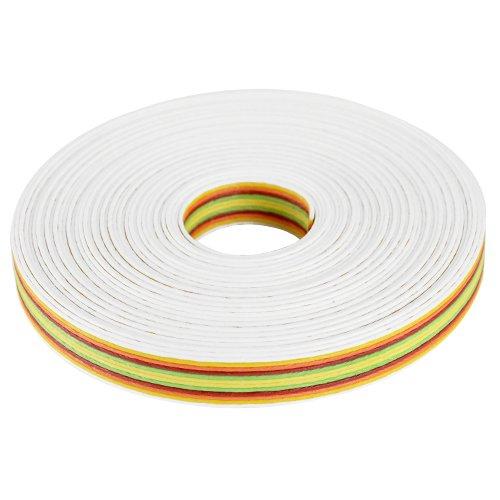 手芸用 エコ クラフトテープ 火の鳥 50m巻 幅15mm 12芯 紙 バンド テープ 日本製