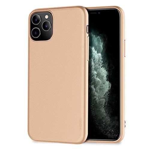 X-level für iPhone 11 Pro Max Hülle, [Guardian Serie] Soft Flex TPU Hülle Superdünn Handyhülle Silikon Bumper Cover Schutz Tasche Schale Schutzhülle Kompatibel mit iPhone 11 Pro Max 6,5 Zoll - Gold