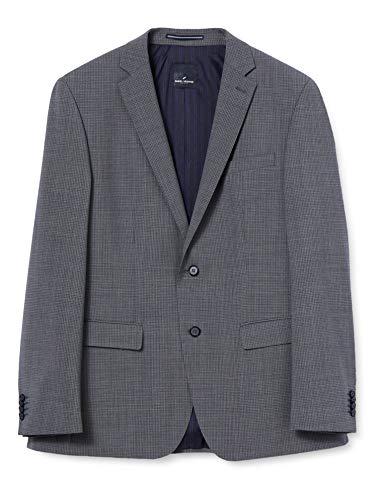 Daniel Hechter Herren Business-Anzug Jacke, grau, 50