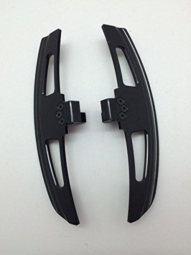 Extended Noir satiné Aluminium Pagaies de levier de vitesse rapide Compatible avec E46 SMG 2001–2006