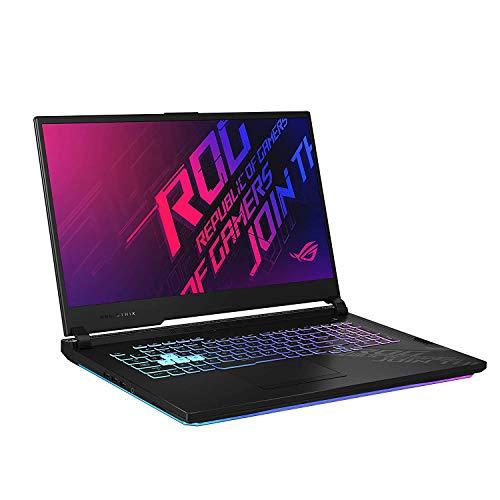 Asus Gaming Laptop ROG Strix G17 i7-10750H(16 Gb Ram,1T SSD,17.3 FHD-144hz,GTX1660Ti-6GB,RGB Backlit-4 Zone,WIFI6,WIN10,,Black Plastic),G712LU-EV002T