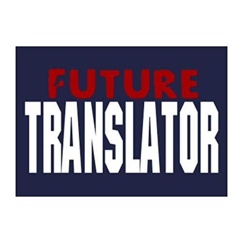 Idakoos Future Translator Sticker Pack x4 6'x4'
