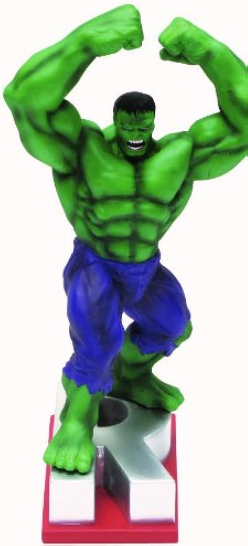 Marvel Resin Figures - Hulk on Letter Base  R