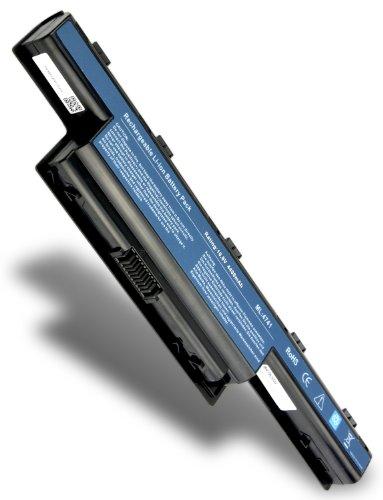Batterie de Remplacement pour Packard Bell AS10D75 (4400mAh / 10.8V)