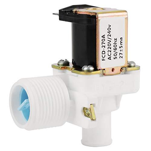 "Válvula electromagnética eléctrica de la válvula de entrada de agua FCD-270A para la lavadora AC 220V / 240V BSPP 3/4""50Hz / 60Hz"