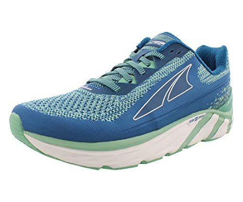ALTRA Women's Torin 4 Plush Road Running Shoe, Blue/Green - 6 M US