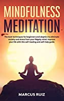 Mindfulness Meditation: The best techniques for beginners and skeptics to eliminate anxiety and stress from your fidgety mind. Improve your life with this self-healing and self-help guide (Stress Relief Meditation)