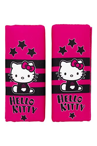 Hello Kitty KIT4052 - Mini almohadillas infantil, cinturón coche