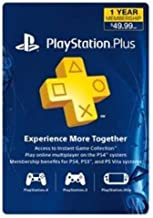 Sony PS Plus 12 Month Subscription Card Live (3000133) (Renewed)