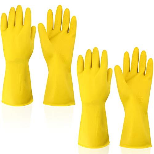 guanti gialli Impermeabili Guanti la Pulizia