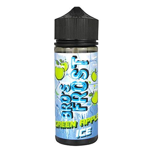 The Bros Aromakonzentrat Frost - Green Apple Ice, Shake-and-Vape zum Mischen mit Basisliquid für e-Liquid, 0.0 mg Nikotin, 20 ml