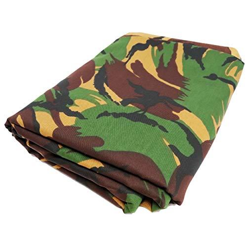 TODA Camouflage Stoff Meterware Tarndruck Flecktarn Militär NATO   reißfest   witterungsbeständig   Mischgewebe British DPM