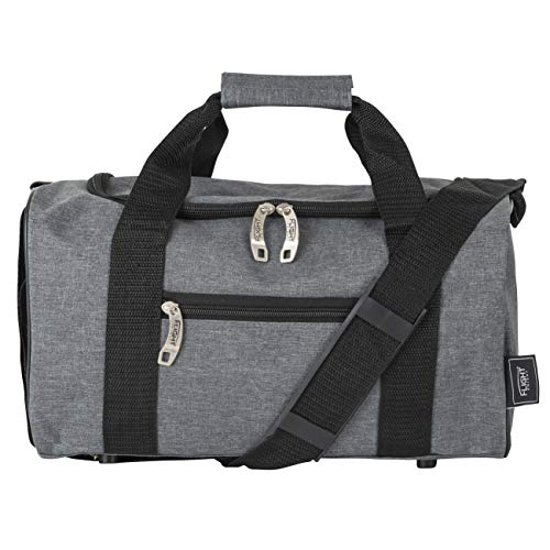 Flight Knight Lightweight Hand Luggage Cabin Size Duffle Bag, 2nd Bag or Underseat for Flight easyJet Ryanair Approved 35 x 29 x 20cm