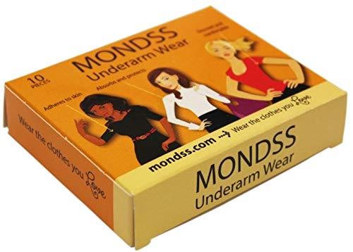 Sweat Pads/Armpit Shields/Underarm Shields (Adhere/Stick to Skin) MONDSS Underarm Wear – for Men/Women. Fast Free Same Day Shipping Worldwide.**AS SEEN ON TV!*
