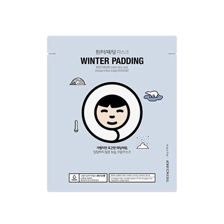 うめき声苛性する必要があるTHE FACE SHOP Winter Padding Cream Mask (5EA) (1. Moisturizing Cream Mask) / ザフェイスショップ ウインター パッディング クリームマスク(5枚) [並行輸入品]