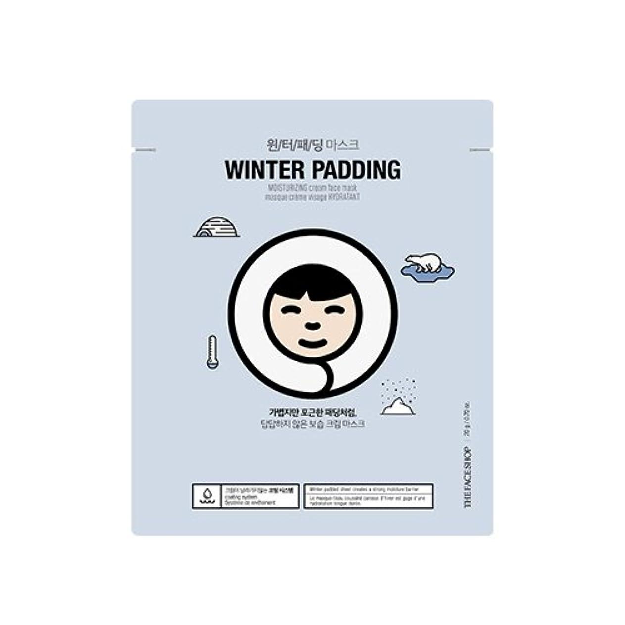 偏見サイト百万THE FACE SHOP Winter Padding Cream Mask (5EA) (1. Moisturizing Cream Mask) / ザフェイスショップ ウインター パッディング クリームマスク(5枚) [並行輸入品]