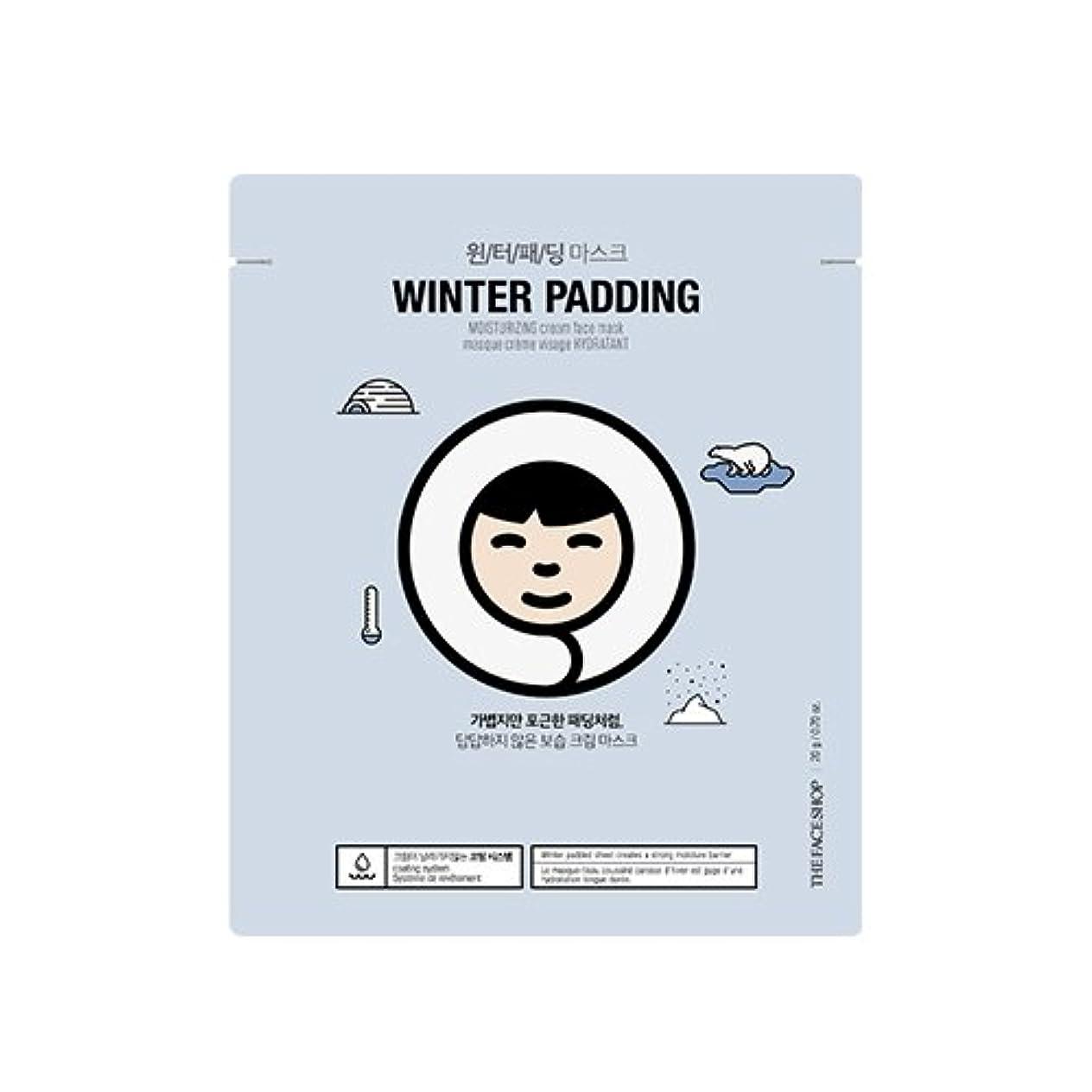 キャプションなので少ないTHE FACE SHOP Winter Padding Cream Mask (5EA) (1. Moisturizing Cream Mask) / ザフェイスショップ ウインター パッディング クリームマスク(5枚) [並行輸入品]