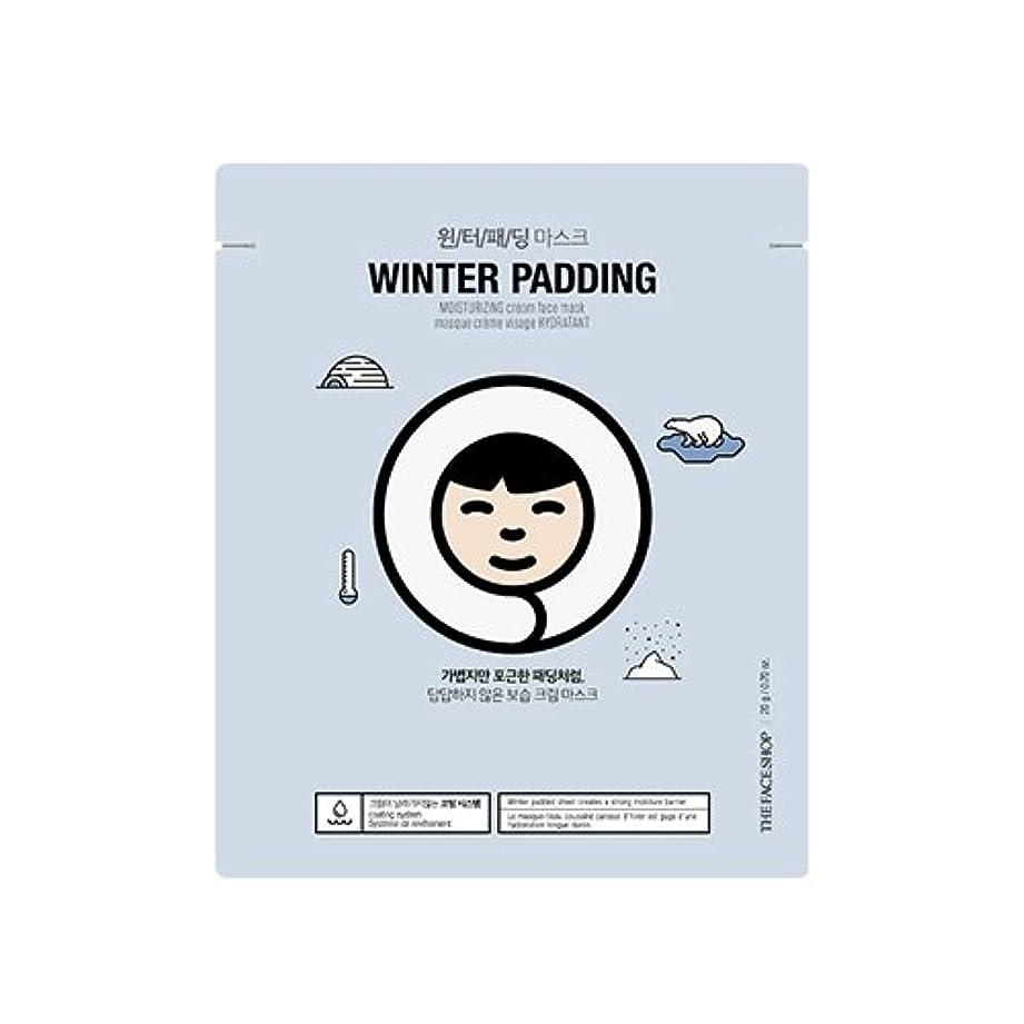 彼の賞相談THE FACE SHOP Winter Padding Cream Mask (5EA) (1. Moisturizing Cream Mask) / ザフェイスショップ ウインター パッディング クリームマスク(5枚) [並行輸入品]