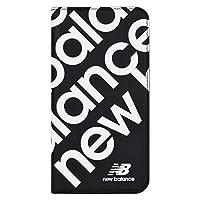 エム・ディー・シー iPhone 11用New Balance スリム手帳ケース ブラック MD-74336-1