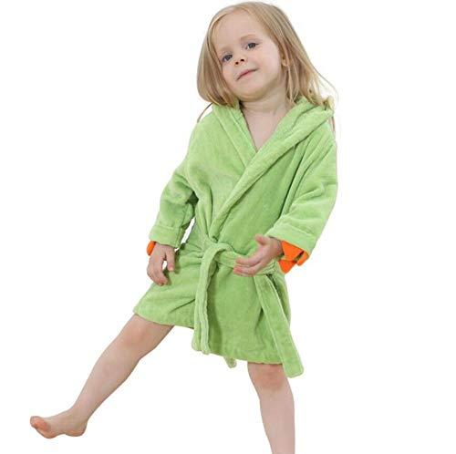 LSJSN Sleepwear Fluwelen Bad Robe Poncho Hooded Handdoek Meisjes Badjas Kids Baby Handdoek Poncho Kleding Slaapmode