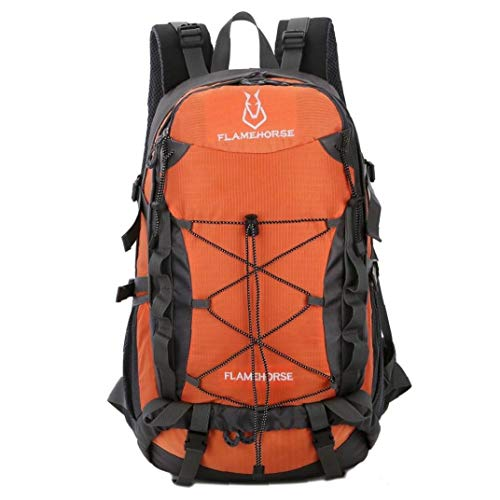 40L Water-Resistant Hiking Backpack Outdoor Sport Camping Climbing Cycling Travel Backpack Daypack Bag