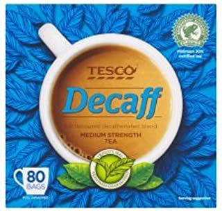 Tesco Decaffeinated 80 Teabags 250G